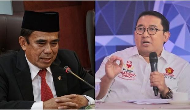 Menag Sebut Radikalisme Masuk Masjid Lewat Hafiz Quran, Fadli Zon Desak Jokowi Copot Fachrul Razi