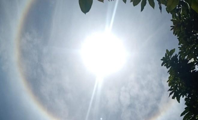 Warga Malang Raya Heboh Fenomena 'Matahari Bercincin Pelangi', Apa Kata BMKG?