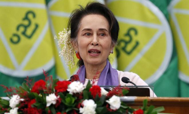 Parlemen Eropa Coret Aung San Suu Kyi dari Komunitas Penerima Penghargaan Sakharov