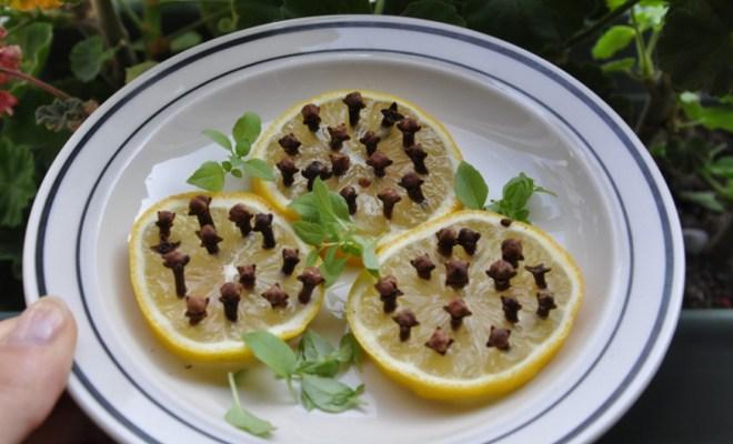 Manfaat Taruh Buah Lemon Ditusuk Cengkeh di Kamar Tidur