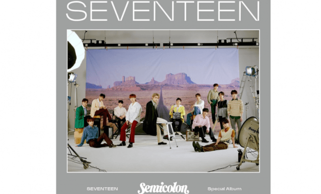 Belum Dirilis, Album 'Semicolon' Seventeen Capai Rekor Pre-Order 1,1 Juta Copy