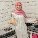 Nycta Gina Mulai Geluti Bisnis Surabi Mini Bersama Keluarga