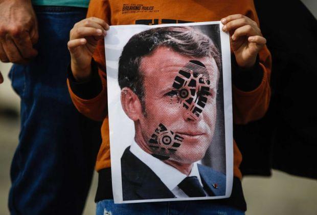 Macron Komentar 'Sembrono' Soal Islam, Asosiasi Pedagang Arab Boikot Produk Prancis