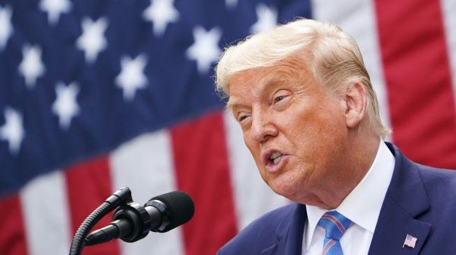 Sesumbar Trump bahwa Dirinya Kebal Covid-19 Disebut 'Langgar Aturan dan Menyesatkan' oleh Twitter