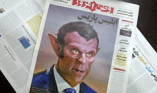 Pemimpin Tertinggi Iran Kecam Dukungan Bodoh Emmanuel Macron kepada Penghina Nabi