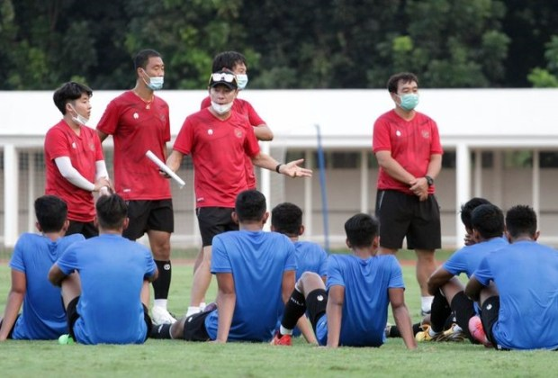 Shin Tae Yong Fokus Benahi Kekuatan Fisik Timnas U-19