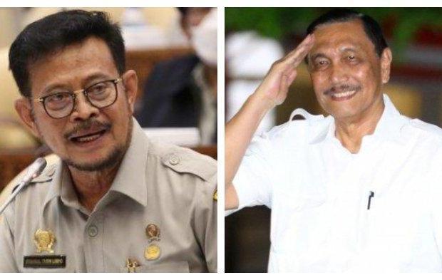 Alasan Jokowi Ganti Luhut Panjaitan dengan Syahrul Yasin Limpo sebagai Menteri Kelautan Ad Interim