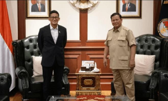 Lucunya Netizen Komentari Ucapan Selamat Prabowo ke Menteri Sandiaga Uno
