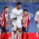 Real Madrid Kalahkan Atletico Madrid, Zidane Tokcer di Derby Madrid