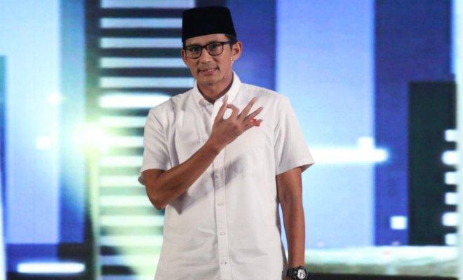Tekad Sandiaga Soal Program Oke Oce Setelah Jadi Menteri Jokowi