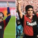 Selebrasi untuk Maradona dengan Lepas Jersey, Messi Didenda 10 Juta
