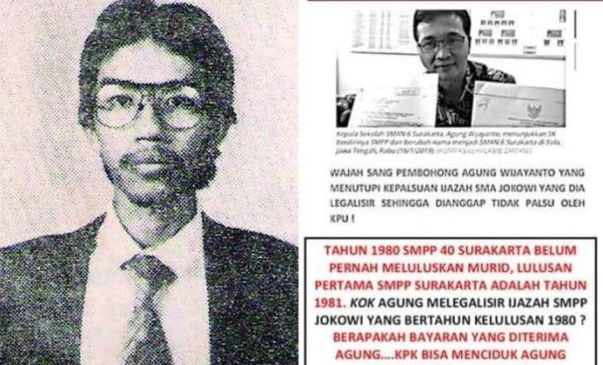 (Cek Hoaks atau Fakta) Ijazah SMA Jokowi Palsu