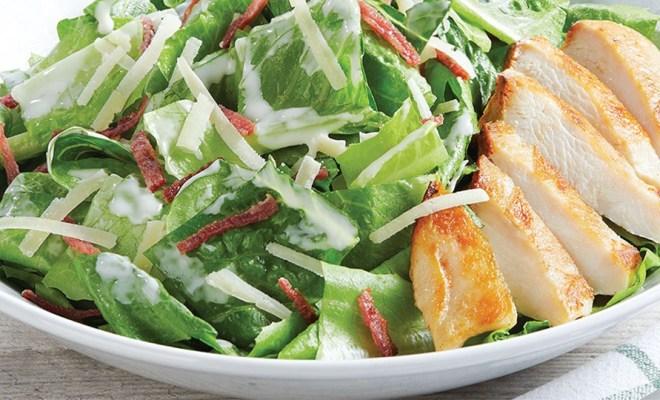 Resep Chicken Caesar Salad ala Restoran