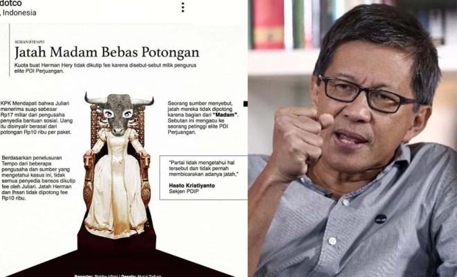Rocky Gerung Berani Taruhan, KPK Tak Bakal Berani Lakukan Pengembangan Kasus 'Madam Bansos'