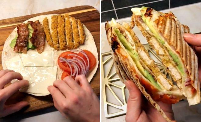 Viral di TikTok, Begini Resep Tortilla Wrap
