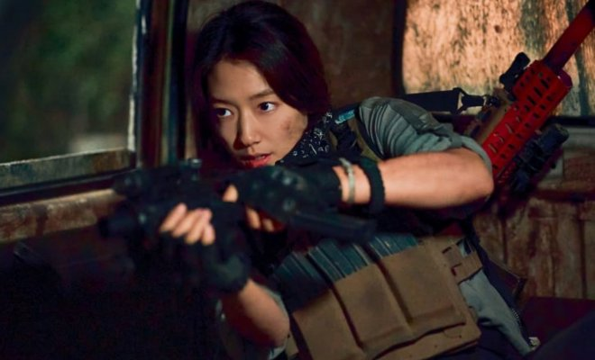 Park Shin Hye Perankan Prajurit di Drama 'Sisyphus: The Myth'