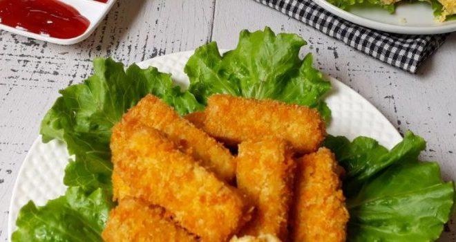 Resep Nugget Ayam Roti Tawar
