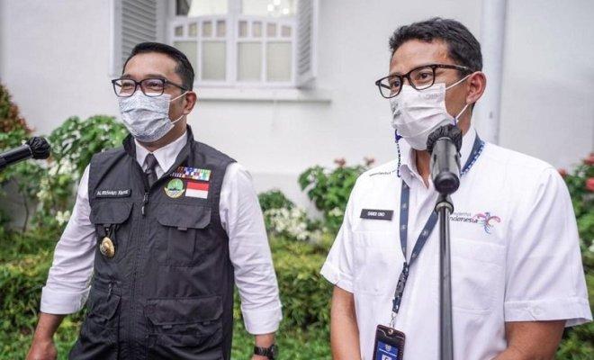 Sandiaga-Ridwan Kamil Jajaki Peluang Duet di Pilpres 2024