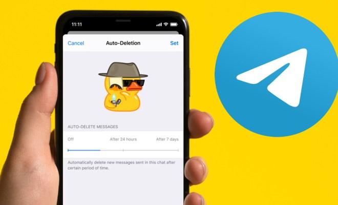 Telegram Rilis Fitur Hapus Pesan Otomatis Hingga Anggota Grup Tak Terbatas