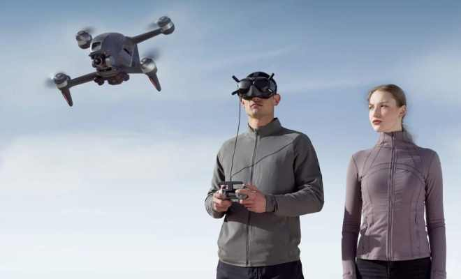 DJI Luncurkan Drone First Person View Harga 20 Juta