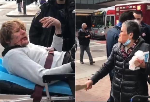 Seorang Nenek di Amerika Pukul KO Pemuda yang Menyerangnya