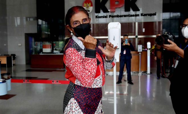 Bikin Penasaran! Disinggung Edhy Prabowo Soal Benur, Susi Pudjiastuti Langsung Merapat ke KPK