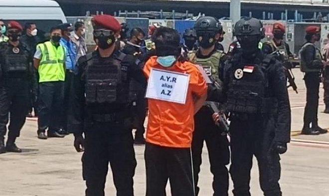 22 Teroris yang Dibekuk di Jatim Diboyong ke Jakarta