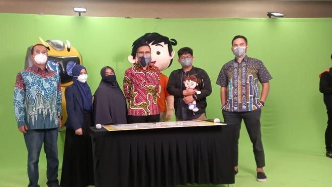 Teuku Wisnu Garap 'Riko The Series' di Muslim Kids TV