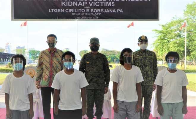 KBRI Manila Terima 4 WNI Korban Sandera Kelompok Abu Sayyaf