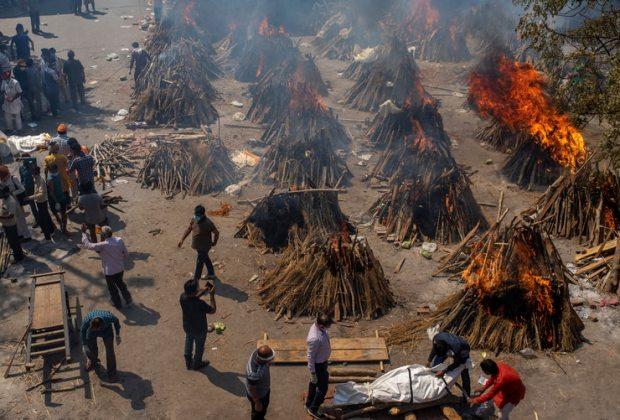 India Makin Terpuruk, Jumlah Kasus Covid-19 Terus Meroket