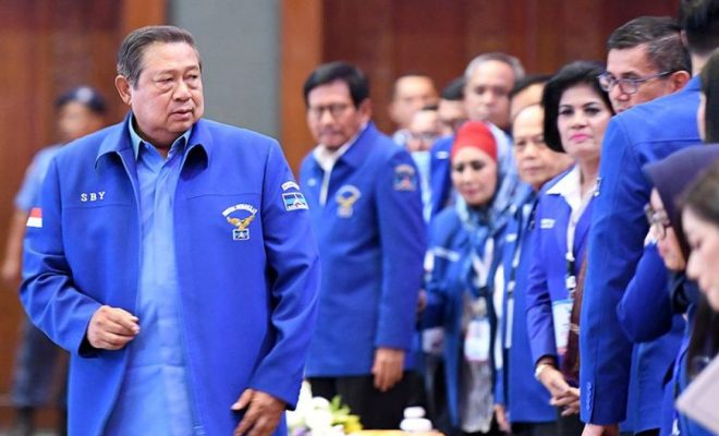 Manuver SBY Kembali Daftarkan Merek Partai Demokrat Bikin Sewot Kubu KLB, AHY Ajak Moeldoko 'Ngopi-ngopi'