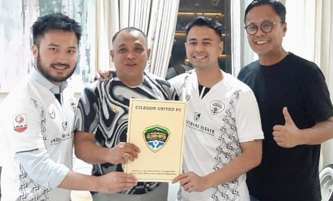 Raffi Ahmad Beli Klub Liga 2 Cilegon United, Ubah Jadi Rans Cilegon United