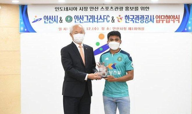 Asnawi Mangkualam Terpilih Jadi Duta Kehormatan Pariwisata Korea