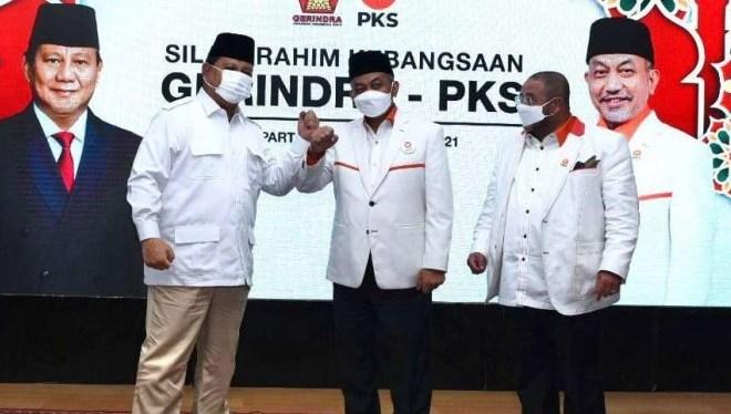 Dikunjungi PKS, Prabowo: Kita Masih Saling Tegur