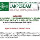 LAKPESDAM PBNU, Minta Jokowi Batalkan Hasil Tes Wawasan Kebangsaan 1.351 Pegawai KPK