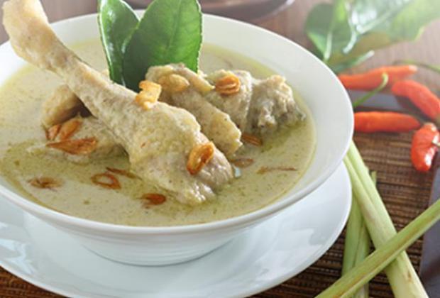 Resep Opor Ayam Rendah Kalori, Tanpa Santan