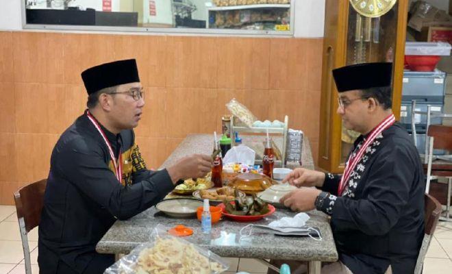 Antara Pertemuan Anies-RK di Sumedang dan Ganjar-Sandiaga di Sleman