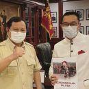 Ridwan Kamil Sambangi Prabowo, Ada Agenda Apa?