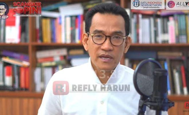 Tolak Presiden 3 Periode, Refly Harun: Sudah Cukup, Pak Jokowi Sudah Jadul