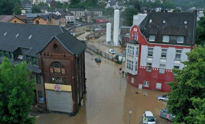 Tiga Negara Eropa Dilanda Banjir, 92 Orang Tewas