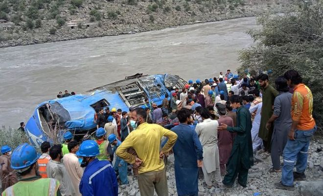 Ledakan Bus di Pakistan Tewaskan 9 Insinyur China