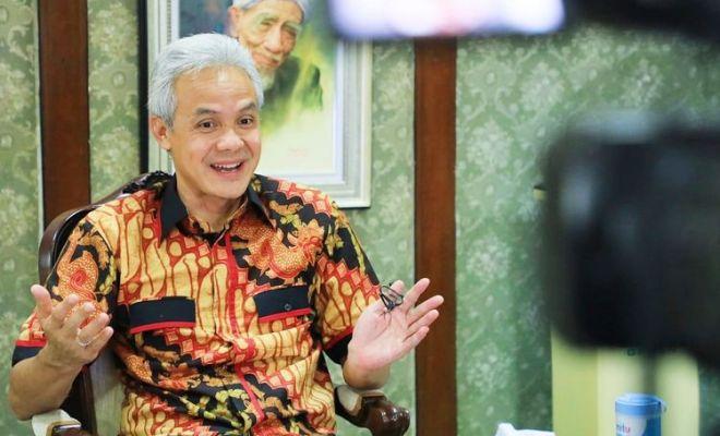 Jokowi Dijuluki 'King of Lip Service' oleh Mahasiswa, Ganjar: Saya Dulu Juga Begitu
