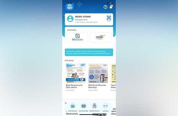 Permudah Layanan Kesehatan, Erick Thohir Luncurkan Aplikasi FitAja!