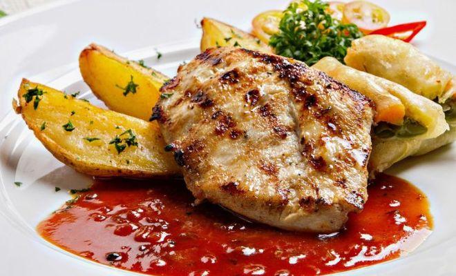 Resep Steak Ayam Barbeque Ala Restoran