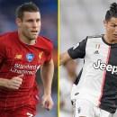 Performa James Milner Diklaim Setara Cristiano Ronaldo