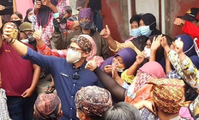 Sandiaga Uno Didoakan Jadi Presiden oleh Warga Sukabumi