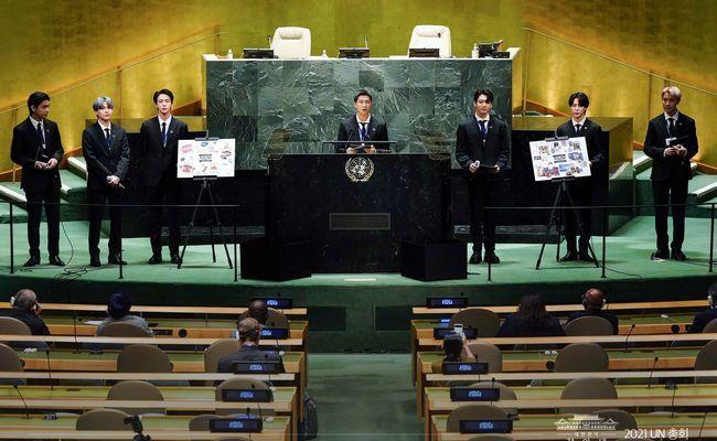 Simak Isi Pidato BTS di Sidang Umum PBB