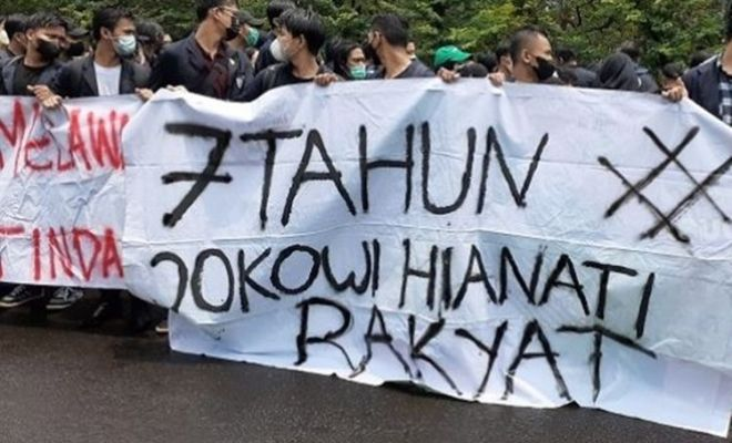 7 Tahun Jokowi, Aliansi BEM SI: Jokowi Bukan Memajukan, Tapi Memundurkan Indonesia