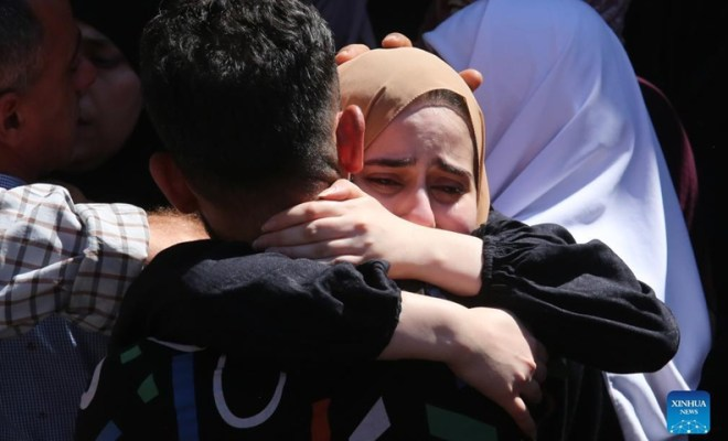 Israel Bunuh Lima Warga Palestina