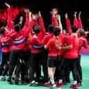 Jokowi Tegang Saksikan Detik-detik Indonesia Juara Thomas Cup 2020
